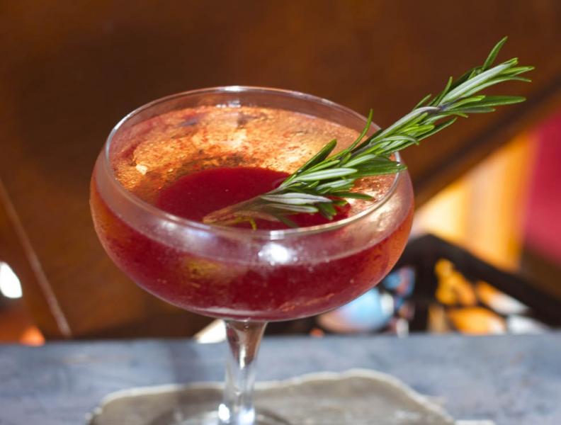 Flore de Moscato Cocktail